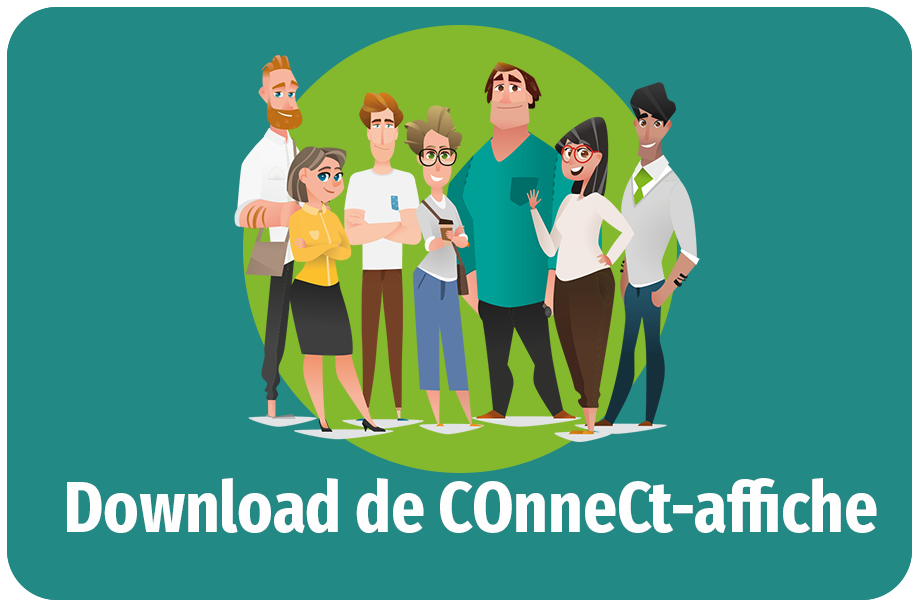 Knop COnneCt-affiche