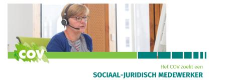 vacature sociaal juridisch medewerker COV